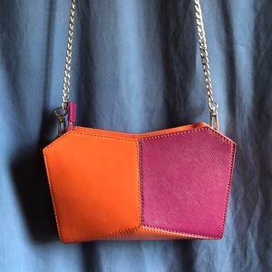 NWOT Botkier shoulder bag Deep Pink,  Burnt Orange